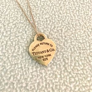 Return to Tiffany Pendant Necklace